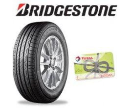 Norauto: Jusqu'à 120€ offerts en carte Total pour l'achat et montage de pneus Bridgestone