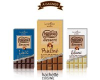 Nestlé: Des livres de recettes Nestlé Dessert à gagner