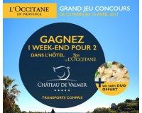 L'Occitane: 1 nuit en chambre double à l'hôtel 4**** Château de Valmer à gagner