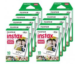 eBay: 100 films photo Fujifilm instax Mini à 56,90€ livraison comprise
