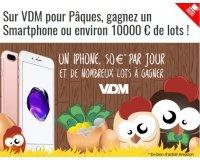 VDM: Plus de 10000€ de cadeaux  (iPhone 7, bons d'achat Amazon, BD...)à gagner