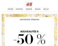 H&M: -50% sur une sélection de nouveautés