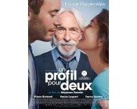 """Publik'Art: 3 lots de 2 places de ciné pour """"Un profil pour deux"""" à gagner"""