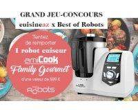 Cuisine AZ: Un robot cuiseur amiCook Family Gourmet de Best of Robots à gagner