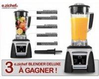 Cuisine Actuelle: 3 robots e.zichef BLENDER DELUXE à gagner par tirage au sort