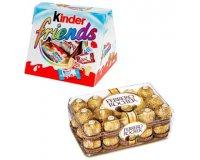 Flunch: 20 boites de Kinder Friends 200g et 20 boites de Ferrero Rocher à gagner