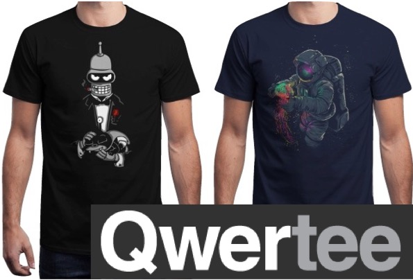 Coupon qwertee