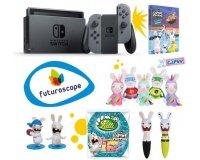 Ubisoft Store: 1 Nintendo Switch, des entrées au Futuroscope et des lots Lapin Crétin à gagner