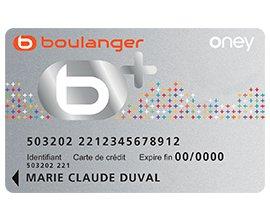 Boulanger: 10€ offerts par tranche de 150€ d'achats pour les titulaires de la carte b+
