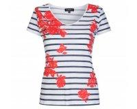 Caroll: T-shirt manches courtes Pivoine à -30%