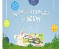 e-motors: 15 cartes Total de 15€ à gagner