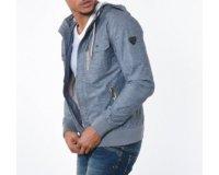 Kaporal Jeans: Veste couleur denim à capuche à 90,30€ au lieu de 129€