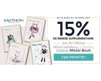 Allobébé: 15% de remise supplémentaires sur 4 thèmes Sauthon