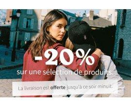 Wooop: -20% sur une sélection de produits + livraison offerte