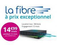 Bouygues Telecom: Abonnement Internet Bbox Miami Fibre à 14,99€/mois pendant 1 an