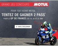 Motoblouz: 2 pass pour le GP de France à gagner en commandant votre huile Motul