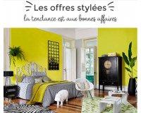 Maisons du Monde: Les offres stylées : sélection de meubles et de déco à -30% et -50%