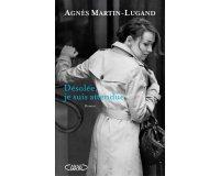 """Serengo: 10 romans """"Désolée, je suis attendue"""" d'Agnès Martin-Lugand à gagner"""