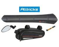 Alltricks: Les accessoires et la bagagerie Zéfal pour vélo avec 10% de réduction