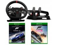Turbo.fr: 1 volant + pédales Pro Racing Madcatz & 2 jeux Xbox One à gagner