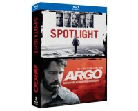 Fnac: Coffret Blu-ray 2 films Spotlight + Argo à 7,75€