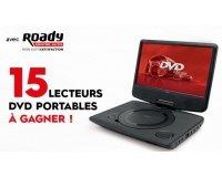 Turbo.fr: 15 lecteurs DVD portables MPD110 CALIBER à gagner