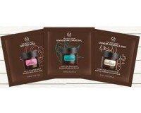 The Body Shop: Obtenez gratuitement vos 3 échantillons de masques en Kit Découverte