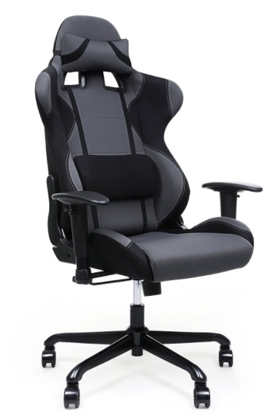 fauteuil de bureau gamer songmics racing sport avec support lombaire 141 71 amazon. Black Bedroom Furniture Sets. Home Design Ideas