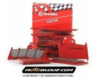 Motoblouz: 1 jeu de plaquettes de frein Brembo acheté = -30% sur le deuxième