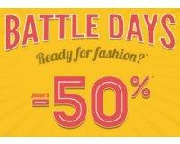 Cache Cache: [Battle Days] Jusqu'à -50% sur une sélection d'articles
