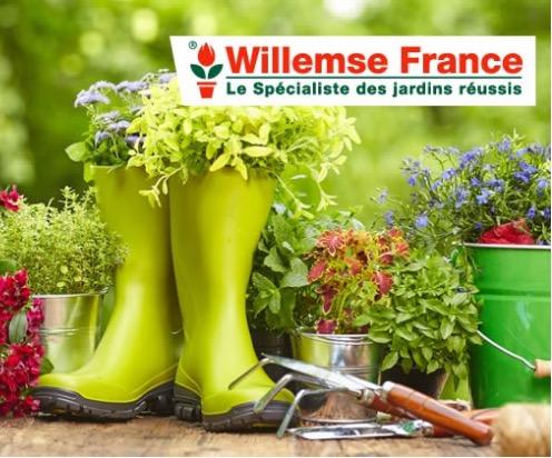 Code promo Groupon : Payez 20€ le bon d'achat de 40€ à dépenser sur la jardinerie en ligne Willemse