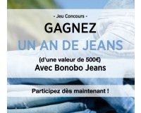 Bonobo Jeans: 1 an de Jeans (valeur 500€) à gagner