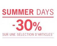 1.2.3: [Summer Days] -30% sur une sélection d'articles