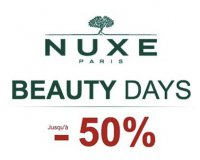 Nuxe: Beauty Days : jusqu'à - 50% sur une sélection de produits de beauté