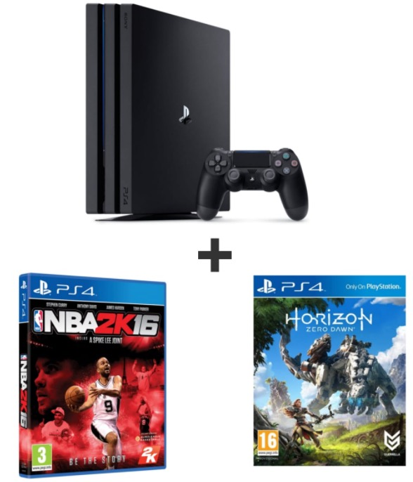 console ps4 pro 1to horizon zero dawn nba 2k16 399. Black Bedroom Furniture Sets. Home Design Ideas