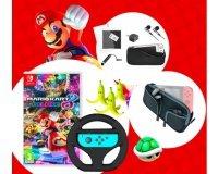 Carrefour: Des accessoires et jeux Mario Kart 8 Deluxe pour Nintendo Switch à gagner