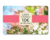 L'Occitane: 1 carte cadeau de 10€ offerte tous les 30€ d'achat