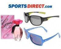 Sportsdirect: Lunettes de soleil et parfum de marques jusqu'à - 80%