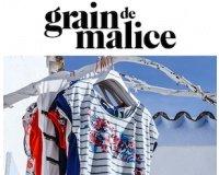 Grain De Malice: -50% sur le 2e t-shirt acheté