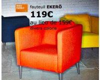 IKEA: 25% de réduction sur les fauteuils EKERÖ