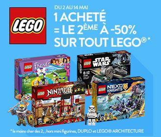 1 lego star wars friends ninjago ou nexo knights ach t le 2e 50 cultura. Black Bedroom Furniture Sets. Home Design Ideas