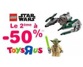 ToysRUs: 1 jouet Lego Star Wars acheté = le 2ème à -50%