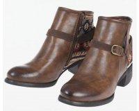 Bonobo Jeans: La paire de boots femme brodé ethnique à 29,99€ au lieu de 59,99€