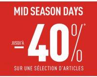 Pimkie: Mid season days : jusqu'à 40% de réduction sur une sélection d'articles