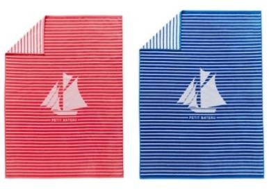 votre serviette de plage petit bateau 9 90 au lieu de 30 d s 49 d 39 achat petit bateau. Black Bedroom Furniture Sets. Home Design Ideas
