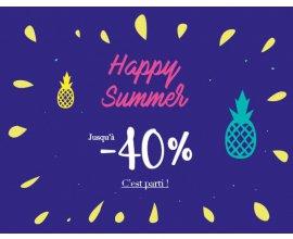 MOA: Happy Summer : jusqu'à -40% sur une sélection d'articles