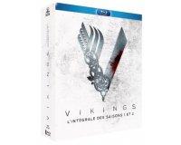 Amazon: Vikings - Intégrale des saisons 1 et 2 en Blu-ray à 25,99€