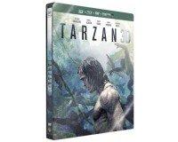 Amazon: Tarzan [Blu-ray 3D + Blu-ray + Copie digitale - Édition SteelBook] à 12,79€