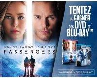 """BFMTV: 20 DVD & 5 Blu-ray du film """"Passengers"""" à gagner"""