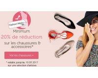 Bonprix: Minimum 20% de réduction sur les chaussures et accessoires